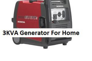 3KVA Home Generators | Reason to Buy